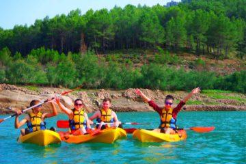 Kayakde Aguas tranquilas en Montanejos