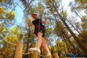Máxima Aventura - Circuito en el bosque con puentes colgantes y tirolina
