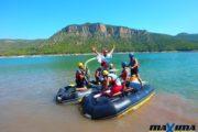 Máxima Aventura - Humor Amarillo acuático en Montanejos